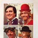 Postales: LOS PAYASOS DE LA TELE. POSTAL. GABY, FOFO Y MILIKI CON FOFITO. EDITA: FHER (A.1974). Lote 164990825