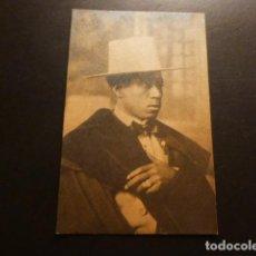 Postales: RETRATO DE PINTOR CUBANO GUILLERMO CAMPO HERMOSO POSTAL FOTOGRAFICA DEDICADA POETA LUIS URDILLA 1922. Lote 164999370