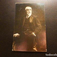 Postales: RETRATO DE ANTONIO MAURA PRESIDENTE DEL GOBIERNO EPOCA DE ALFONSO XIII POSTAL FOTOGRAFICA. Lote 164999382