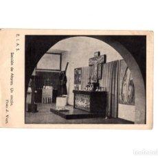 Postales: E.I.A.S.(EXPOSICIÓN INTERNACIONAL DE ARTE SACRO). SECCIÓN DE ALTARES. UN RINCÓN. FRANCO. Lote 165109494