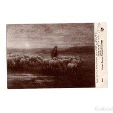 Postales: SALÓN DE PARIS. EL REGRESO DEL GANADO.. Lote 165117310