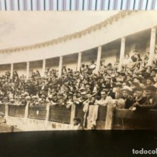 Postales: POSTAL TENDIDO PLAZA TOROS 1900 BIARRITZ NORTE DE ESPAÑA MANTILLA TENDIDO ANTIGUA CORRIDA TAURINA. Lote 166748242