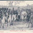 Postales: POSTAL - ENTREE DE NAPOLEON 1ER A BRIENNE 1814 - PAUL ANTOINE - CIRCULADA - NAPOLEON. Lote 167934008