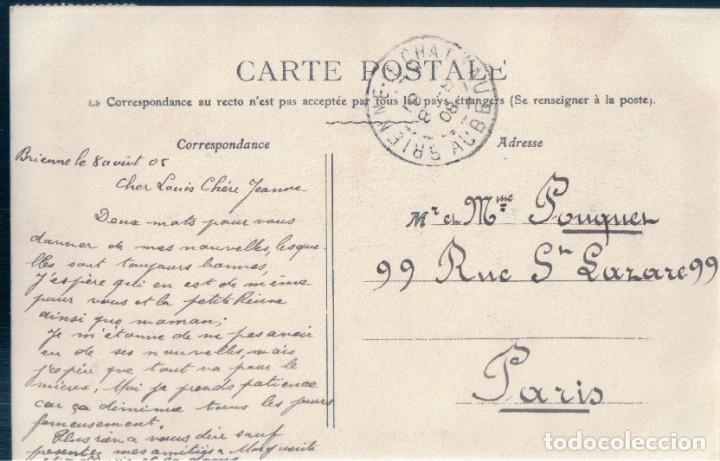 Postales: POSTAL - ENTREE DE NAPOLEON 1ER A BRIENNE 1814 - PAUL ANTOINE - CIRCULADA - NAPOLEON - Foto 2 - 167934008
