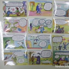 Postales: LOTE 12 POSTALES DE LA LOTERIA SERIE P 1981. Lote 168125056