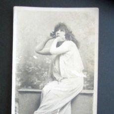 Postales: POSTAL ARTISTA SARAH BERNHARDT. PRIMERA EDICIÓN. MÁS DE 100 AÑOS DE ANTIGÜEDAD. . Lote 170506720