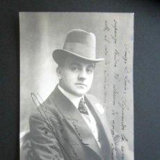 Postales: POSTAL ARTISTA. ACTOR. VALENCIA, AÑO 1911. TEATRO. . Lote 170520056