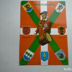Postales: POSTAL TXISTULARI EUSKALHERRIA - ESCRITA. Lote 171225068