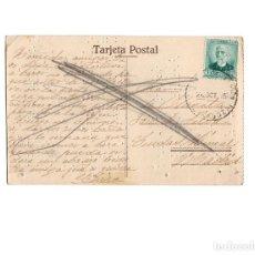 Postales: ALHAMA DE ARAGÓN.- TERMAS PALLARES EL PARQUE. POSTAL EN ESCRITURA TÁCTIL BRAILLE. (RARA). Lote 171686453