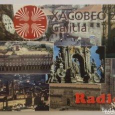 Postales: POSTAL QSL XACOBEO 2004 GALICIA. Lote 174292094