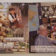 Postales: POSTAL QSL DICTICA SAINT ANDRE LE GAZA - FRANCE. Lote 174297289