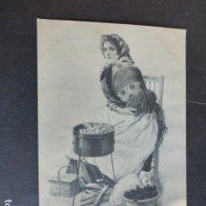 Postales: LA CASTAÑERA COLECCION BLANCO Y NEGRO POSTAL. Lote 174978765
