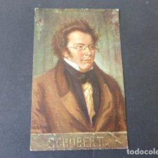 Postales: SCHUBERT COMPOSITOR POSTAL. Lote 175454398