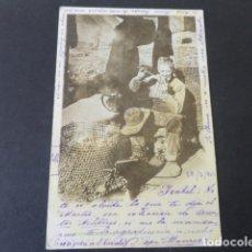 Postales: COLECCION CANOVAS FUMADOR EMPEDERNIDO POSTAL. Lote 175461150