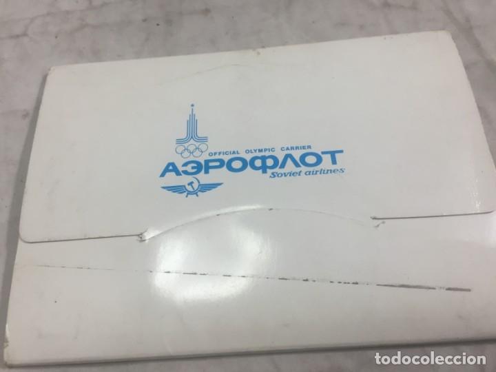 Postales: Sobre 15 postales Unión Sovietica Aeroflot Linea Aerea especial Juegos Olimpicos color sin circular - Foto 2 - 175463643