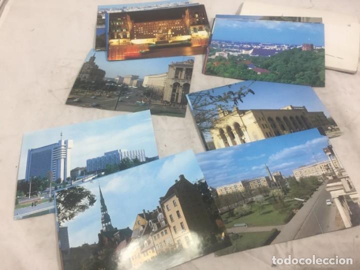 Postales: Sobre 15 postales Unión Sovietica Aeroflot Linea Aerea especial Juegos Olimpicos color sin circular - Foto 3 - 175463643