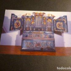 Postales: VERMILLION ESTADOS UNIDOS MUSEO ORGANO SUIZO. Lote 175711769