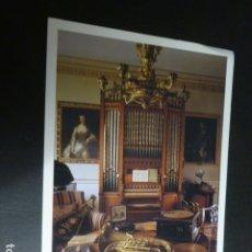 Postales: LONDRES NATIONAL TRUST LIBRAY ORGANO. Lote 175712443
