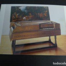 Postales: BERLIN MUSEO DE INSTRUMENTOS CLAVICEMVALO SIGLO XVII. Lote 175713792