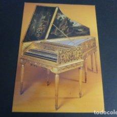 Postales: PARIS MUSEO DEL CONSERVATORIO SUPERIOR DE MUSICA CLAVECIN 1684. Lote 175714065