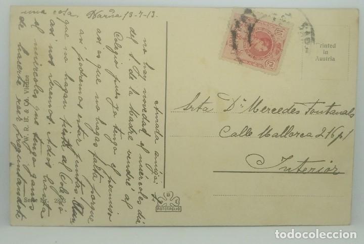 1913 Carruaje Serie 2893 Circulada (ver sello) - 175970057