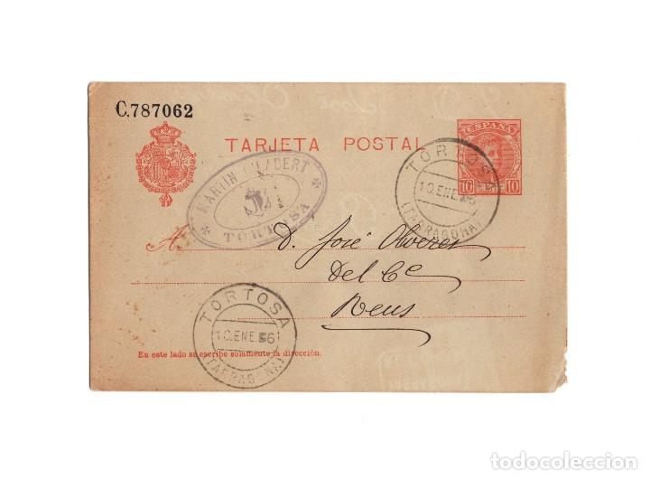 TORTOSA.(TARRAGONA).- TARJETA POSTAL. MARTIN CLABERT TORTOSA 1906. (Postales - Postales Temáticas - Especiales)