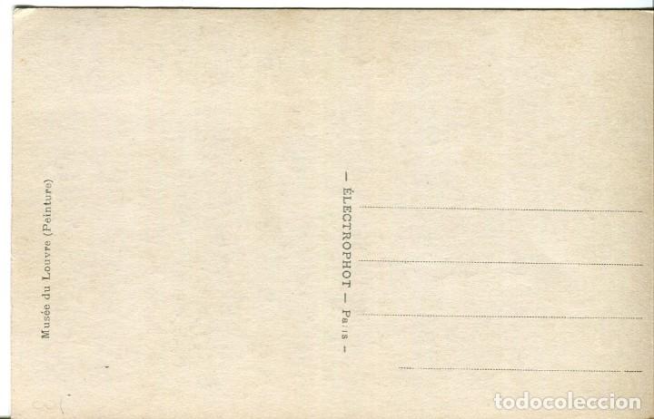 Postales: LA LISEUSE- JOVEN DESNUDA CON LIBRO-MUSEO DEL LOUVRE- ORIGINAL - Foto 2 - 178170521