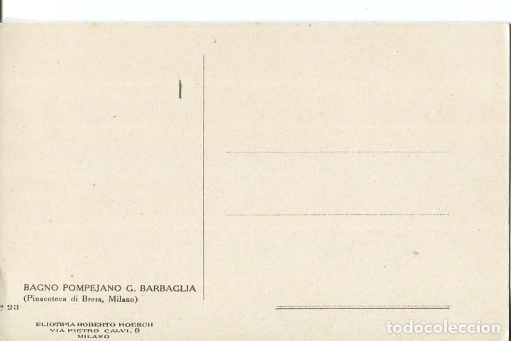 Postales: JÓVENES DESNUDAS EN EL BAÑO PONPEYANO - Foto 2 - 178215061