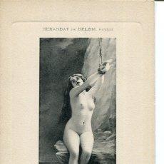 Postales: JOVEN DESNUDA- ANDROMÉDE. Lote 178215536