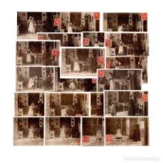 Postales: COLECCIÓN CÁNOVAS.SERIE L. 20 POSTALES COMPLETA DEL Nº1 AL 20. Lote 178381780