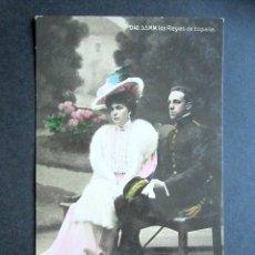 Postales: POSTAL FAMILIA REAL ESPAÑOLA. LOS REYES DE ESPAÑA. FOTO FRANZEN. MONARQUÍA ALFONSO XIII. Lote 178403168