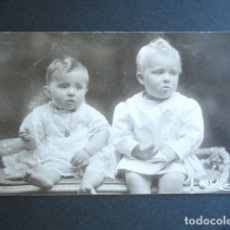 Postales: POSTAL FOTOGRÁFICA FAMILIA REAL ESPAÑOLA. PRÍNCIPE DE ASTURIAS. FOTO KAULAK. MONARQUÍA ALFONSO XIII. Lote 178431293
