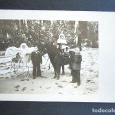 Postales: POSTAL FOTOGRÁFICA FAMILIA REAL ESPAÑOLA. INFANTES. MONARQUÍA ALFONSO XIII. . Lote 178558068
