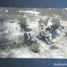 Postales: POSTAL FAMILIA REAL ESPAÑOLA. CACERÍA REAL EN RÍOFRÍO. AÑO 1903. MONARQUÍA ALFONSO XIII.. Lote 260424505