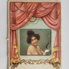 Postales: ANTIGUA POSTAL CON MOVIMIENTO ESCRITA 1921. Lote 178674918