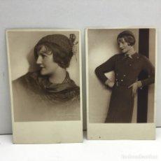 Postales: POSTAL FOTOGRAFICA PHOTO - ATELIER - KITTY HOFFMANN - SIN CIRCULAR - WIEN, STUBENRING 20 - AÑO 1922. Lote 179141196