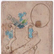 Postales: ANTIGUA POSTAL EN RELIEVE - JARRÓN CON FLORES - 1913 - GUARDIOLA CASA. Lote 180166532