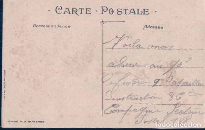 Postales: POSTAL PARA FELICITAR - M.G NATERRE - Foto 2 - 180227372