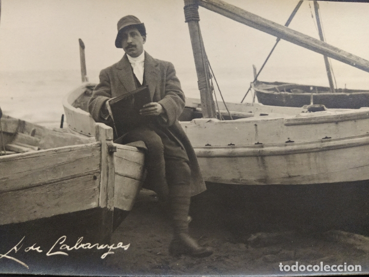 Postales: PINTOR ALEXANDRE DE CABANYES-POSTAL FOTOGRAFICA SERRA-VER FOTOS-(63.316) - Foto 2 - 180422351