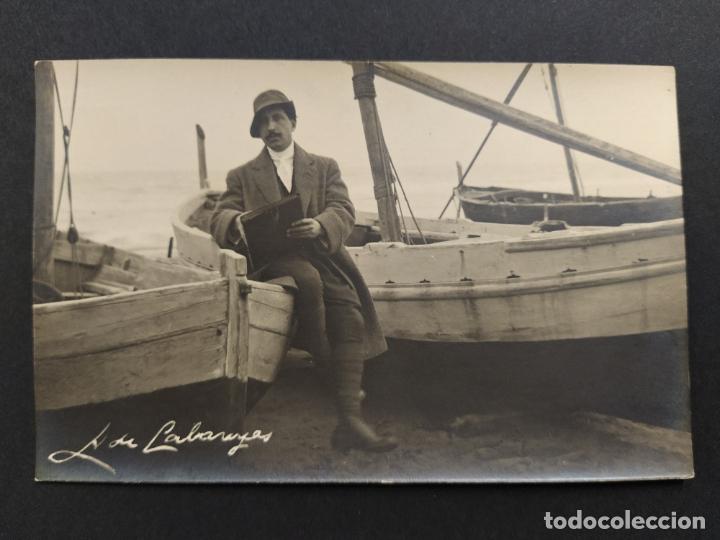 PINTOR ALEXANDRE DE CABANYES-POSTAL FOTOGRAFICA SERRA-VER FOTOS-(63.316) (Postales - Postales Temáticas - Especiales)