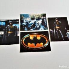 Postales: LOTE 4 POSTALES BATMAN. Lote 180497473