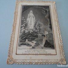 Postales: ANTIGUA ESTAMPA INMACULADA CONCEPCION TROQUELADA. Lote 181506917