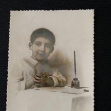 Postales: TARJETA POSTAL NIÑO DE COMUNIÓN M TORNASOL. Lote 182005378