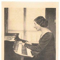 Postales: POSTAL WANDA LANDOWSKA PARÍS 1933. Lote 182486312