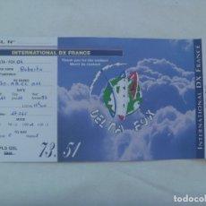 Postales: POSTAL DE RADIOAFICIONADO . DELTA FOX - NORMANDIA, FRANCIA. Lote 182977923