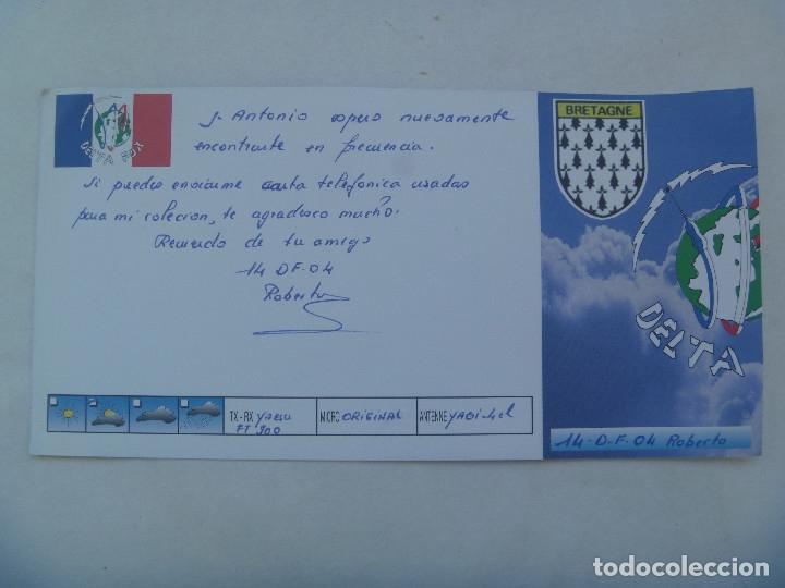 Postales: POSTAL DE RADIOAFICIONADO . DELTA FOX - BRETAÑA, FRANCIA - Foto 2 - 182982805