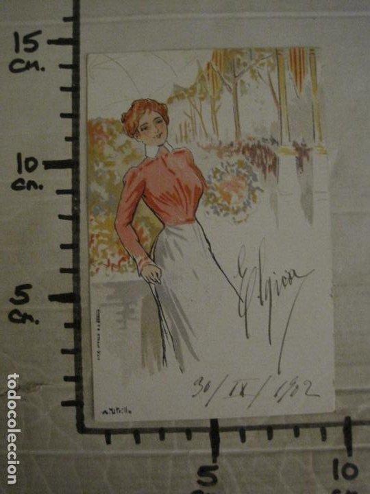 Postales: POSTAL ANTIGUA ILUSTRADA POR UTRILLO-REVERSO SIN DIVIDIR-VER FOTOS-(64.421) - Foto 7 - 183701128