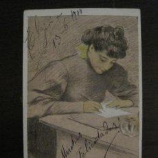 Postales: POSTAL ANTIGUA ILUSTRADA POR UTRILLO-REVERSO SIN DIVIDIR-VER FOTOS-(64.426). Lote 183701612