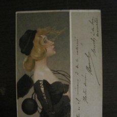 Postales: POSTAL ANTIGUA ILUSTRADA POR RAPHAEL KIRCHNER-REVERSO SIN DIVIDIR-VER FOTOS-(64.432). Lote 183702463