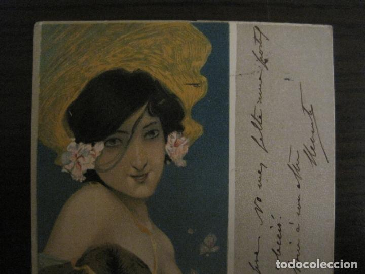 Postales: POSTAL ANTIGUA ILUSTRADA POR RAPHAEL KIRCHNER-REVERSO SIN DIVIDIR-VER FOTOS-(64.433) - Foto 2 - 183702541